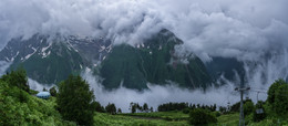 Schlechtes Wetter in den Bergen, Wetter ... / ***